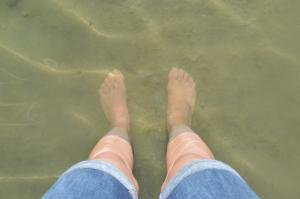 My feet being eaten